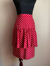 Load image into Gallery viewer, Silk Polka Dot Skirt (Med)