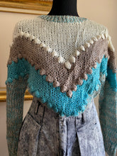 Load image into Gallery viewer, Chevron Gumball Sweater (Sml)