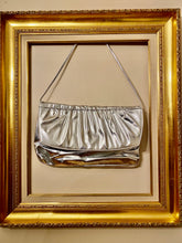Load image into Gallery viewer, Silver Metallic Purse