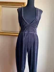 Velour Jumpsuit (Med)