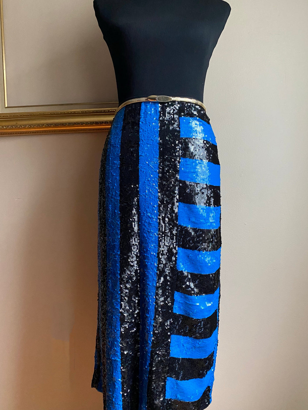Tracy Sequin Skirt (Sml)