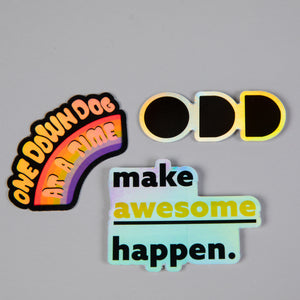 ODD Holographic Sticker Pack