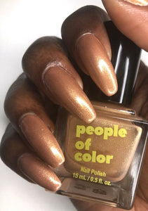 People Of Color Nail Polish Bronzed Beauty