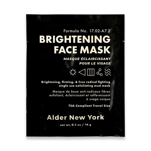 Alder NY Single Use Brightening Face Mask