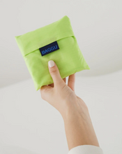 Load image into Gallery viewer, lime colored bag pouch