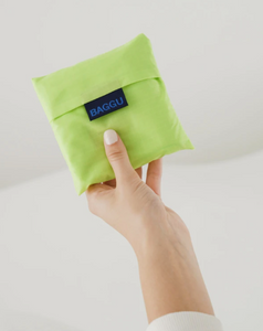 lime colored bag pouch