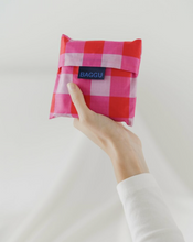 Load image into Gallery viewer, Baggu Standard Bag Big Check Magenta