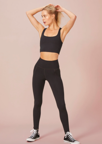 Girlfriend Collective High Rise Legging Black
