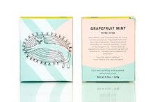 Load image into Gallery viewer, Meow Meow Tweet Grapefruit Mint Bar Soap