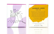 Load image into Gallery viewer, Meow Meow Tweet Lavender Lemon Bar Soap