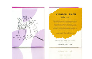 Meow Meow Tweet Lavender Lemon Bar Soap
