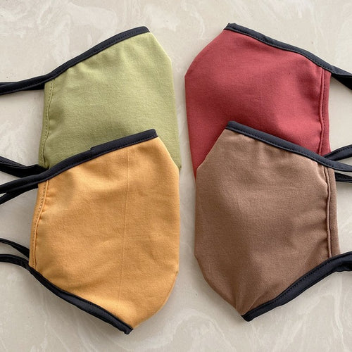 Back Beat Co. Cotton Masks Assorted Colors