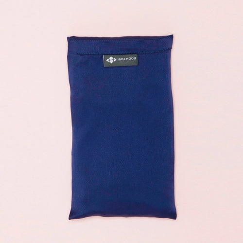 Halfmoon Silk Eye Pillow w/ Lavender Assorted Colors