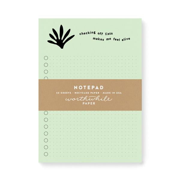 Worthwhile Paper Notepad
