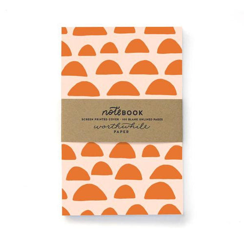 Worthwhile Paper Pattern Notebook Sunrise