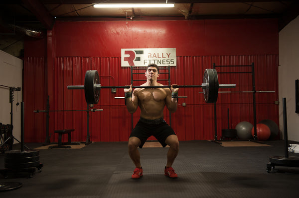 Weightlifting with Rally Fitness