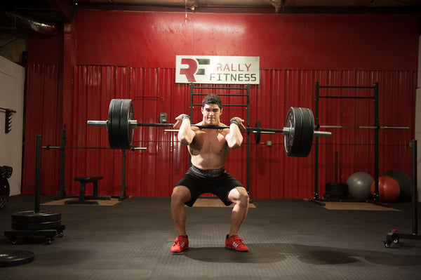 CrossFit workout with RallyFitness gym equipment