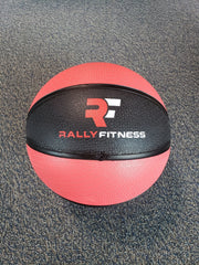 10lb Rubber Medicine Ball by Rally Fitness