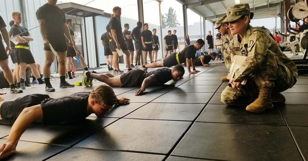 ACFT Army Soldiers