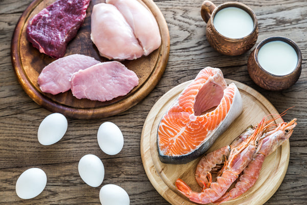 Lean, high-protein foods