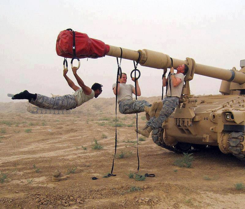 Special Forces CrossFit workout