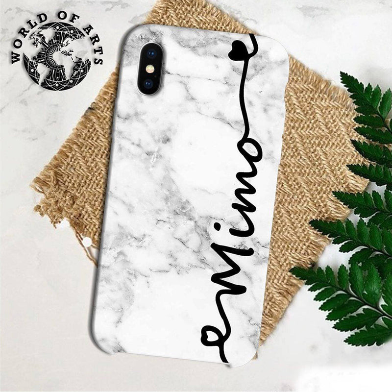 White marble cover