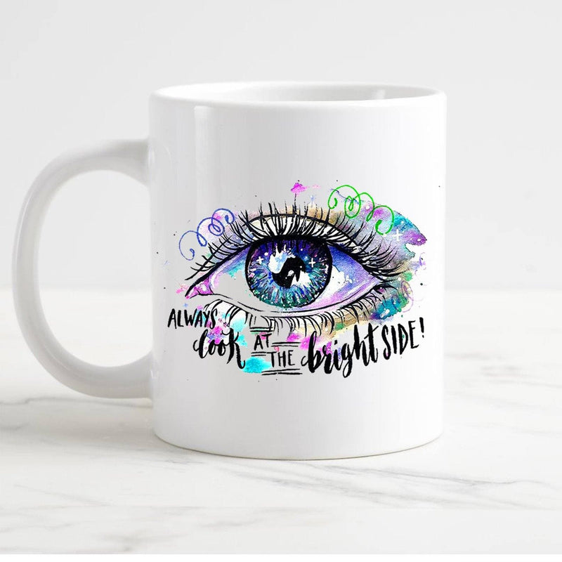 Colorful eye in 2 Colors mug