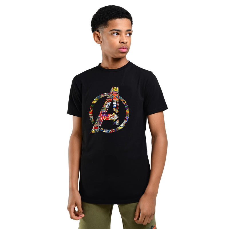 Avengers Logo Boys T-shirt for kids