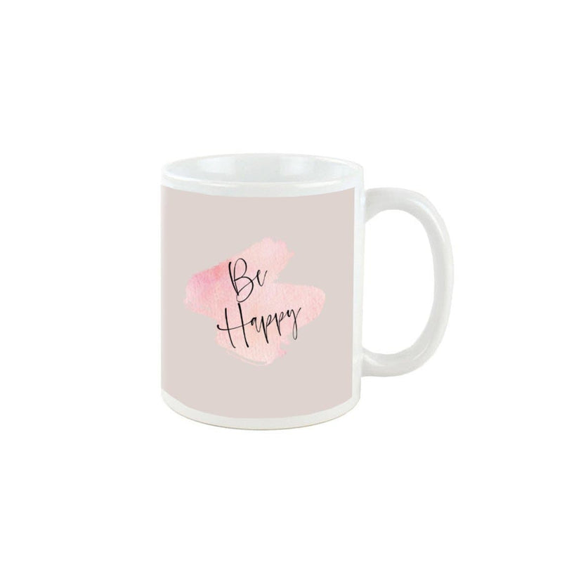 Be happy Design Mug