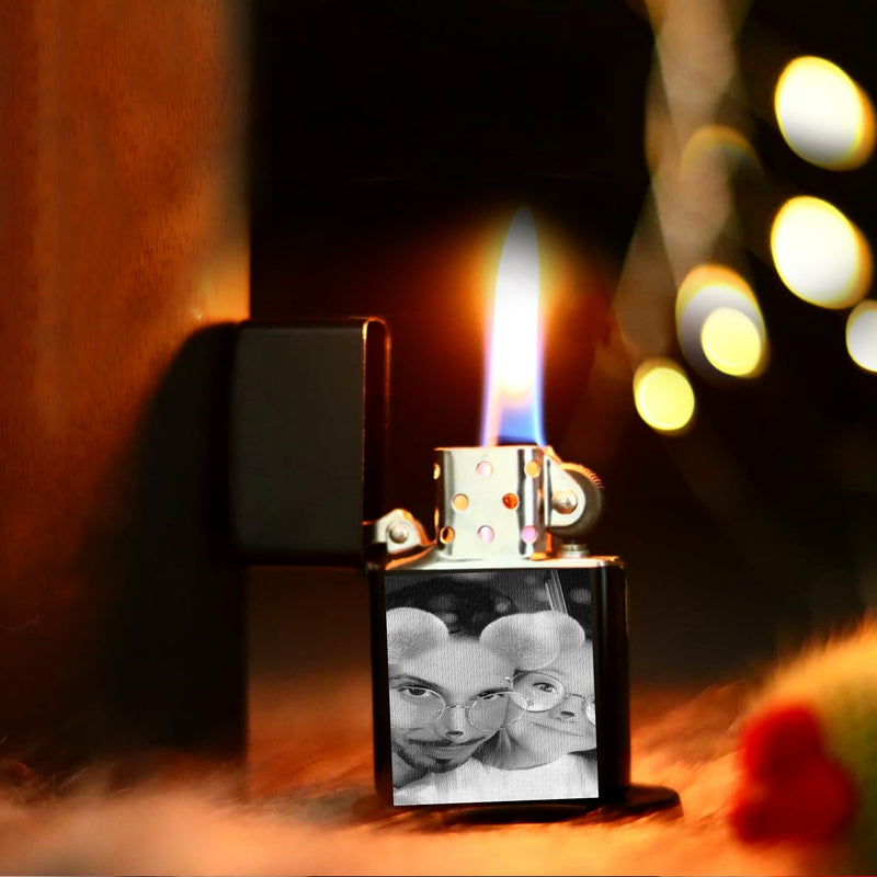 customized photo zippo