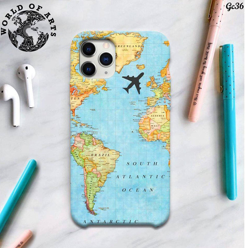 Traveling map cover