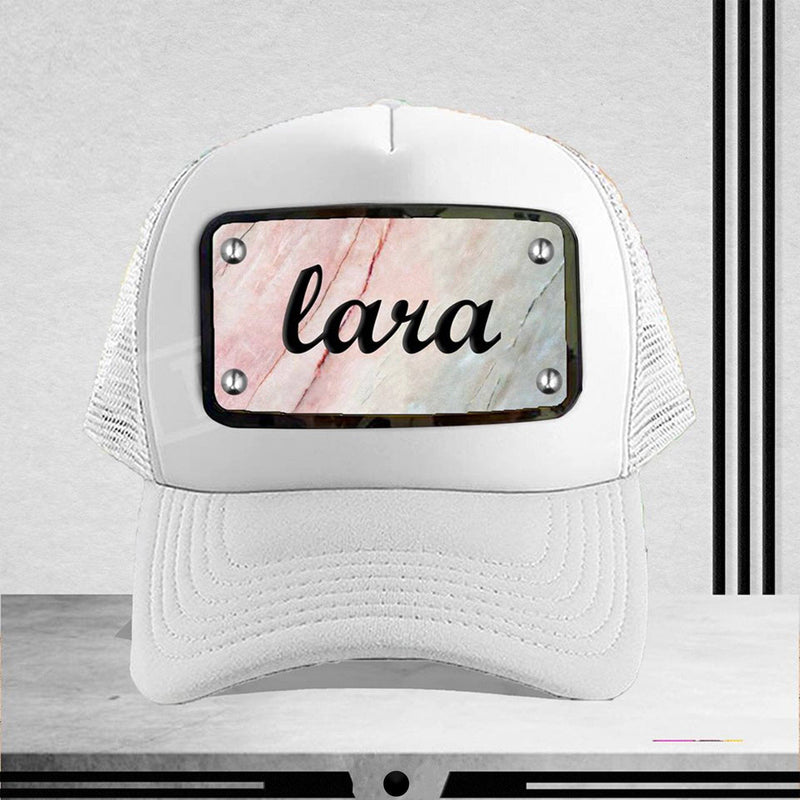 Customized White Cap