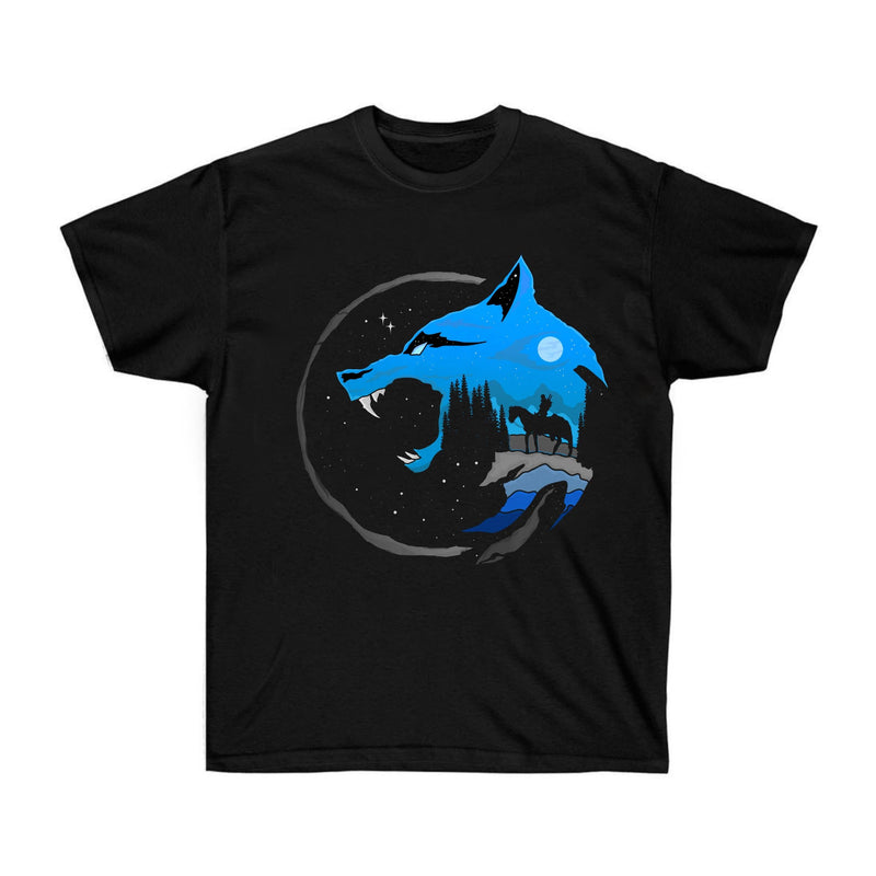 Wolf at Night T-Shirt