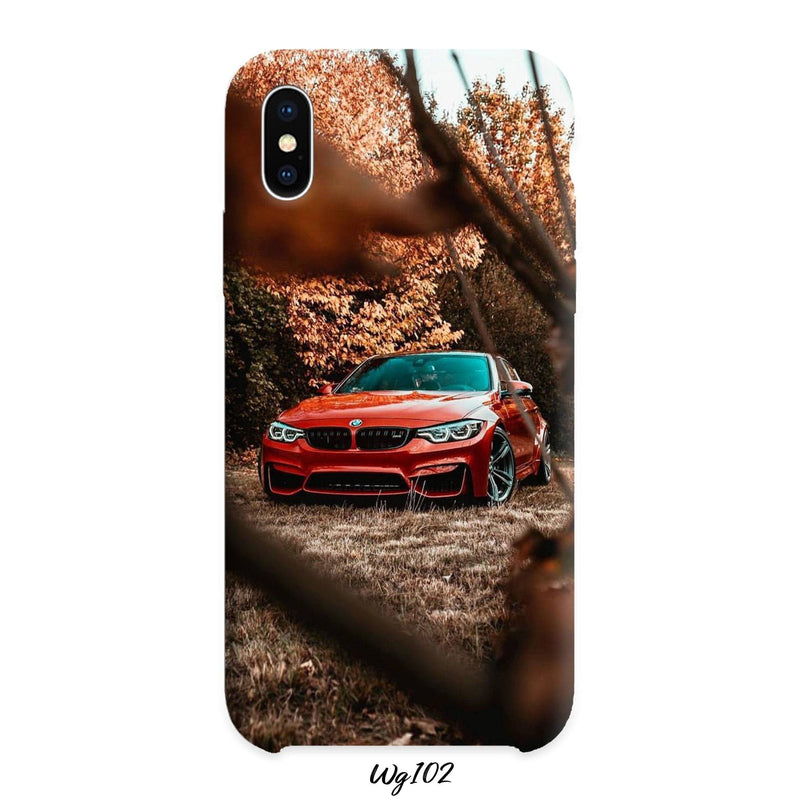 Orange BMW m3 cover