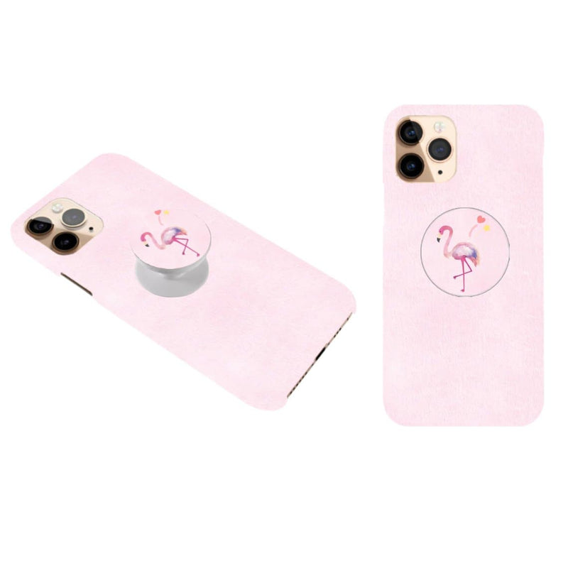 Flamingo  Cover with Popsocket