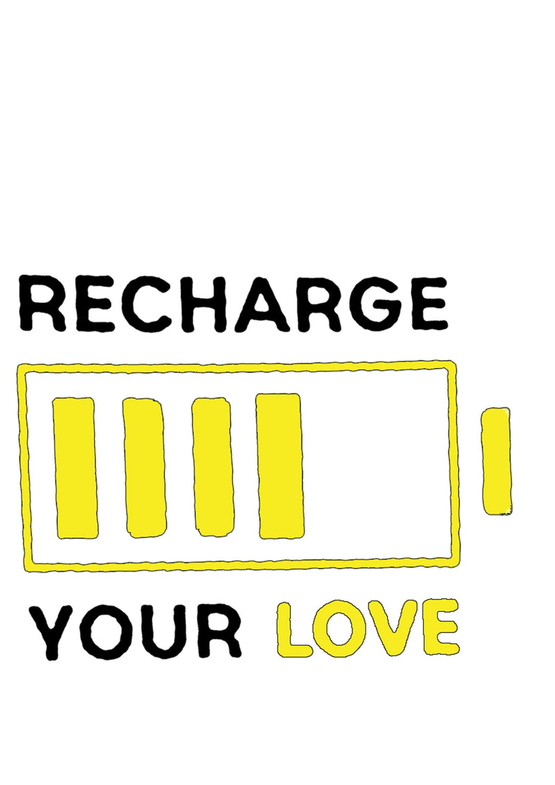 Recharge Love Baby Onesie