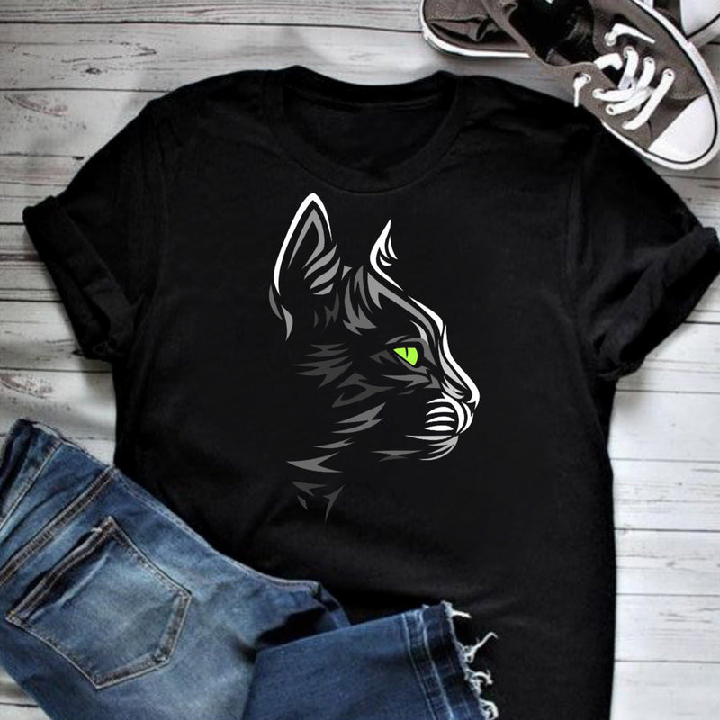Cat illustration T-Shirt
