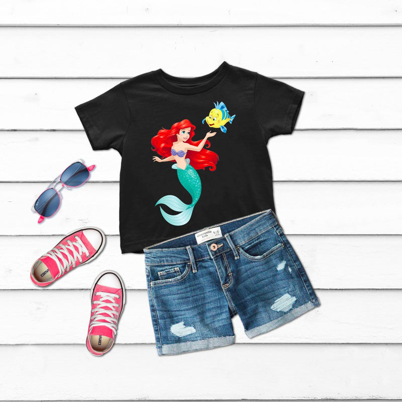 Little Mermaid Girls t-shirt for kids