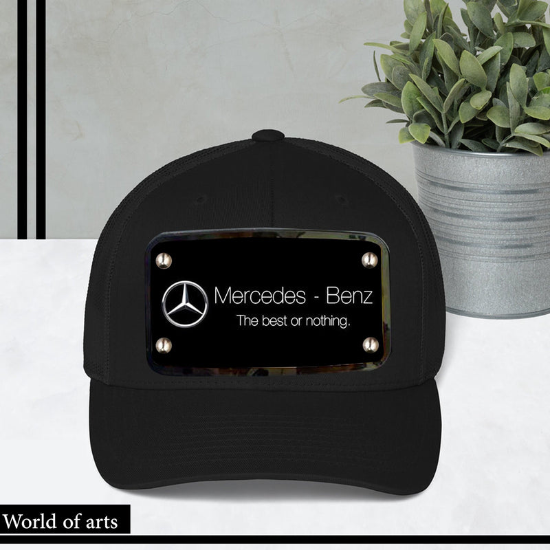 Mercedes Benz Black Cap