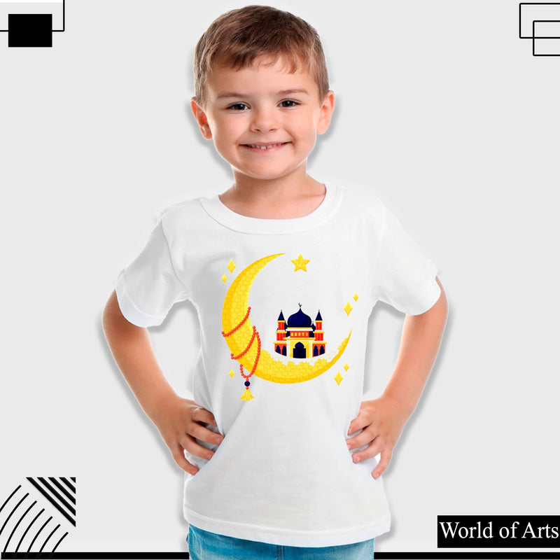 Mosque of Ramadan Boys T-shirt for kids