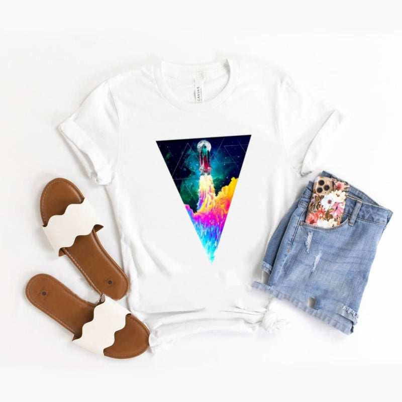 Spaceship design T-Shirt