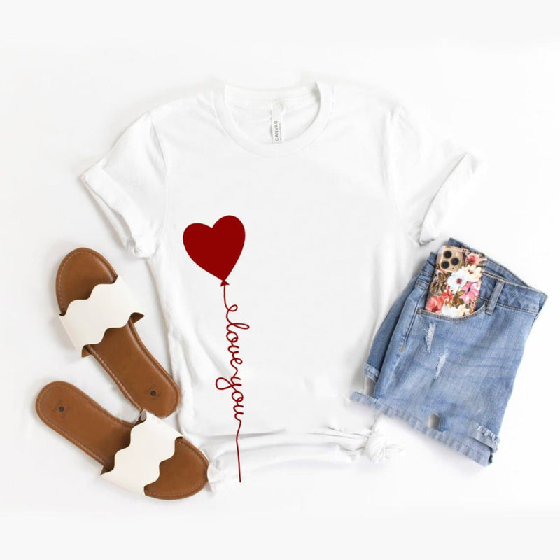 Heart quote Design T-Shirt