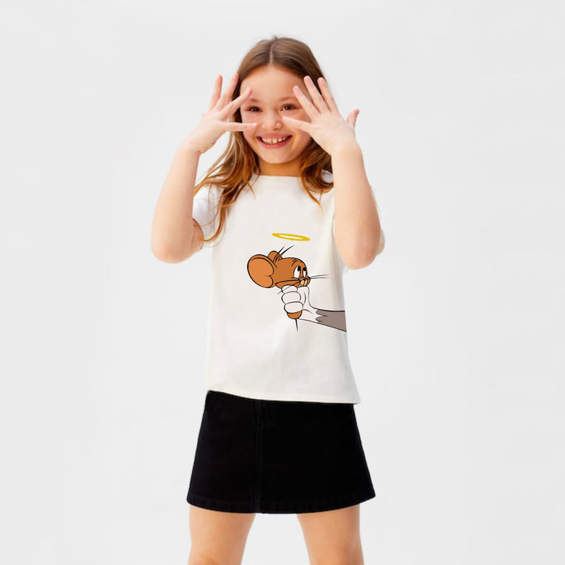 Tom and Jerry Girls t-shirt for kids