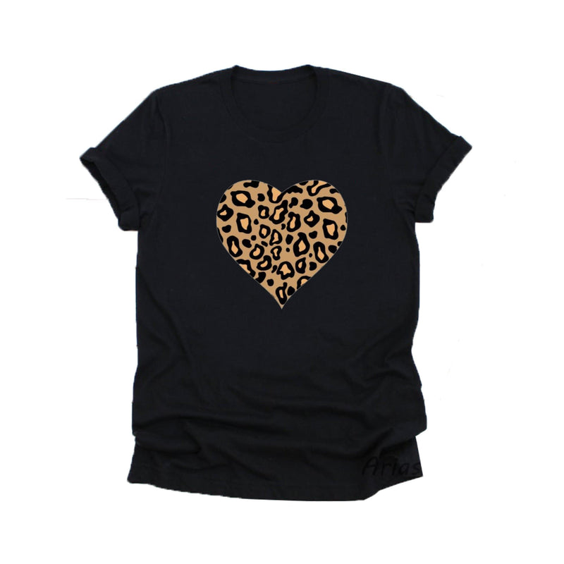 Cheetah Heart fur T-Shirt