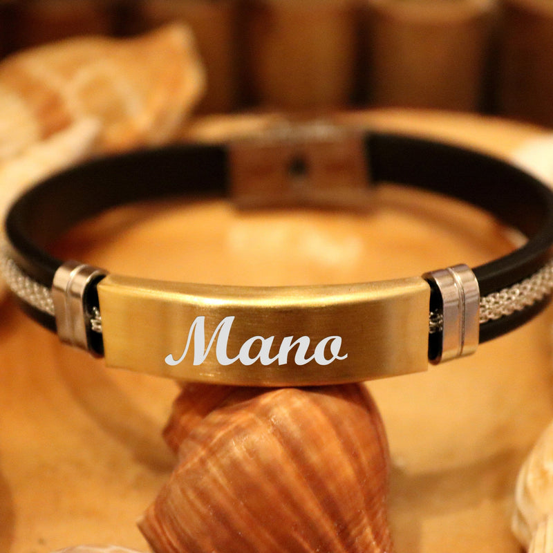 Mate Gold Stainless Steel bracelet