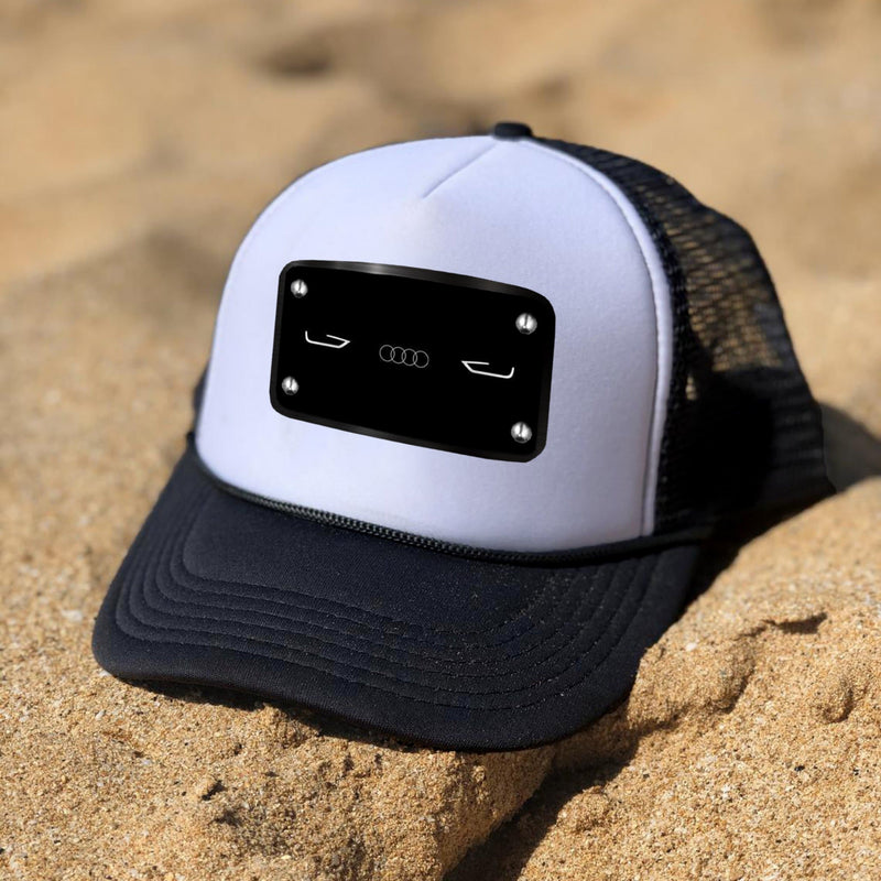 Audi black white Cap