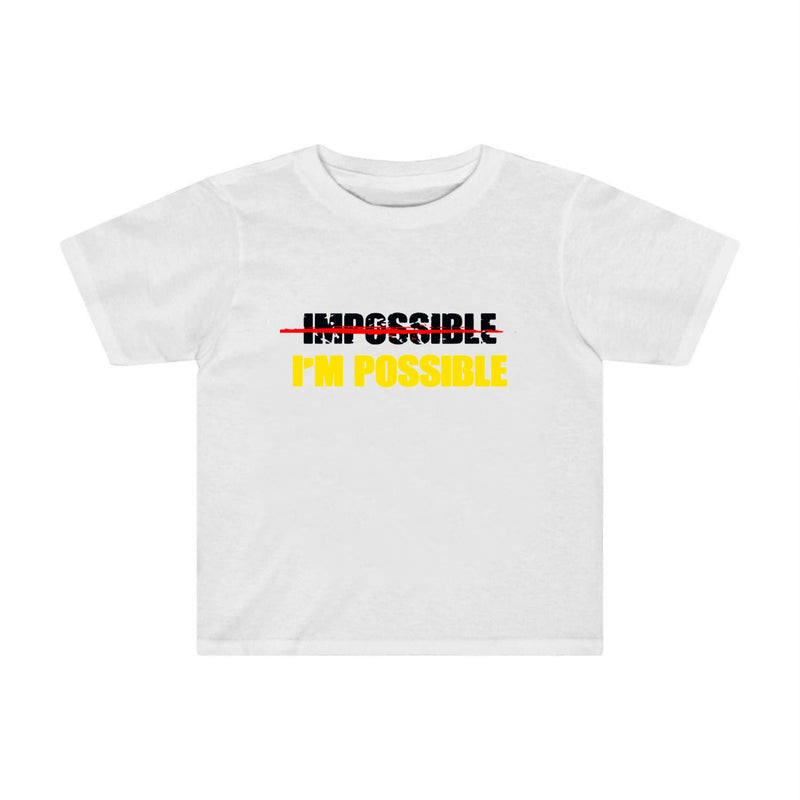 I'm Possible Boys T-shirt for kids