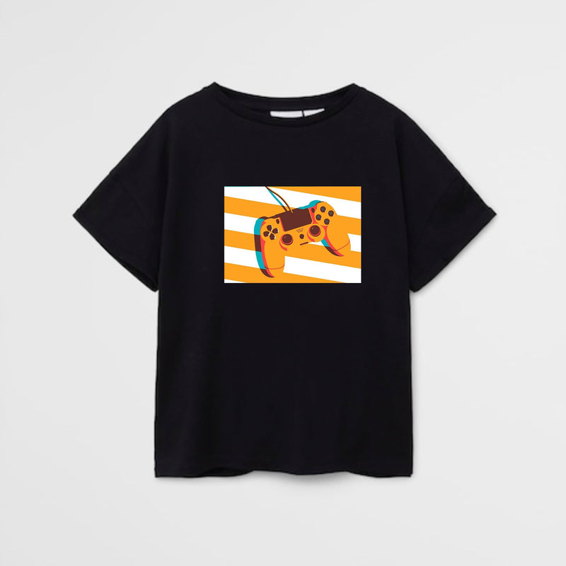 PS Controller boys t-shirt for kids