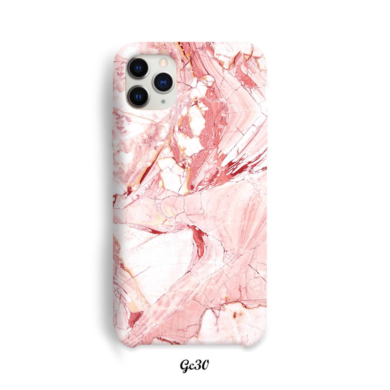 White pink marble cover