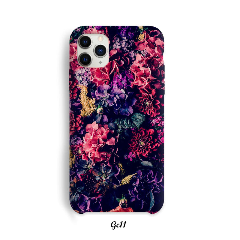 Colorful flowers cover